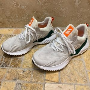 Miami Hurricanes adidas AlphaBounce Beyond Shoes
